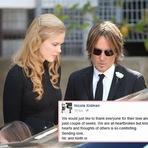 Nicole Kidman fala de seu desgosto com a morte do pai