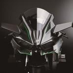 Automóveis - Kawsaki Ninja H2R é finalmente revelada e tem 300cv de potência