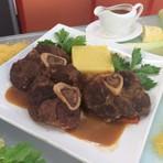 Ossobuco com polenta receita Hoje em Dia 29/09/2014