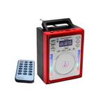 Ofertas: Rádio portátil com entrada USB e micro SD card