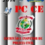 Concursos Públicos - Apostila Concurso Publico PC CE Escrivao e Inspetor de Policia Civil 2014