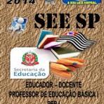 Concursos Públicos - Apostila Concurso Publico SEE SP Professor Educador Docente PEB I 2014