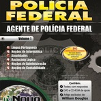 Apostila Concurso PF 2014 Polcia Federal Cargo Agente Administrativo -Editora Nova