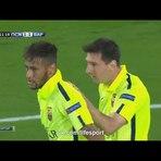 Futebol - Os gols de PSG 3 X 2 BARCELONA - 30/09/2014