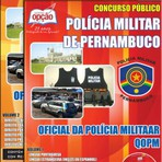 Concursos Públicos - Apostila Concurso PM-PE 2014 - QOPM Oficial da Polícia Militar Pernambuco