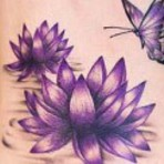 Tatuagem flor de lótus