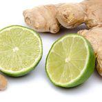 Gengibre com limão emagrece e combate celulite
