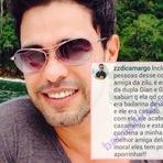 Comentário de Zezé di Camargo está fazendo mal a Gian