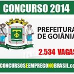 Concursos Públicos - Processo Seletivo Prefeitura de Goiânia-GO para 2,5 mil vagas na Educação
