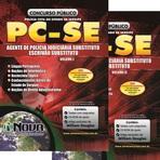 Concursos Públicos - Apostila Impressa PC - SE 2014 - Escrivão e Polícia Judiciária Substituto