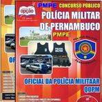 Apostila Oficiais da Polícia Militar de Pernambuco - PMPE CFO 2014
