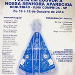 Festa em louvor à Nossa senhora Aparecida será entre os dias 9 e 12 de outubro