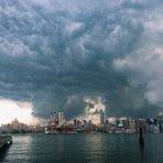 Religião - Bonito ou assustador? Nuvens estranhas surpreendem moradores de Nova York