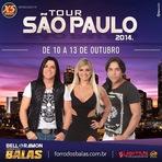 Turnê Forró dos Balas em São Paulo