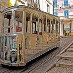 Curiosidades - Ascensor da Bica [ou Elevador da Bica] - Lisboa (Portugal).