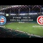 Os gols de Bahia 2 x 0 Universidad César Vallejo UCV - Copa Sul-Americana 2014 - 01/10/2014