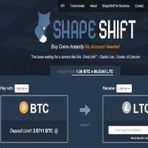 ShapeShift: Câmbio de moedas digitais que não requer login