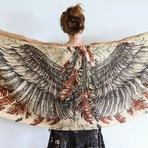 Lenços bonitos que vão te dar asas