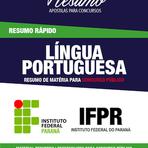 Passe no concurso do IFPR 2104