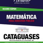 Passe no concurso da Prefeitura de Cataguases - MG
