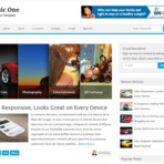 Design - Iconic One Responsive Blogger Template