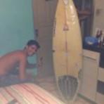 Vendo Prancha de Surf usada