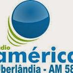 Rádio América AM 580,0 ao vivo e online Uberlândia MG