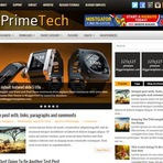 Design - PrimeTech Responsive Blogger Template