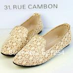 Belíssimos modelos de calçados flat, nova coleção