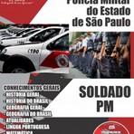 Apostila Concurso Soldado PM-SP Polícia Militar de São Paulo 2014