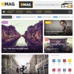 Design - BMAG Magazine Responsive Blogger Template