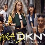 Cara Delevingne revela colaboração com DKNY