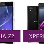 Comparativo XPERIA Z1 vs XPERIA Z2
