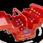 A caixa de ferramentas do Pixlr