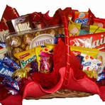 Porque as mulheres gostam tanto de cestas com chocolates?