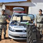 PMs de Girassol recuperam três veículos roubados e vários equipamentos eletrônicos