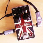 MONSTRO EFFECTS   Pedal de Guitarra Plexi 800 Distortion   Handmade