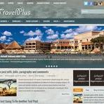 Design - TravelPlus Responsive Blogger Template