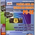 Concurso Público SSP / SERGIPE -PC/SE 2014 - Apostila Policia Civil Sergipe - Agente e Escrivão - PC-SE