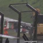 Vazou o video que mostra batida de Bianchi no GP Japão que deixou o piloto em estado grave