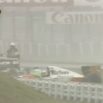 F1: Acidente semelhante ao de Bianchi, 20 anos atrás