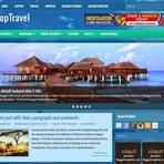 Design - TopTravel Responsive Blogger Template