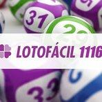 Resultado Lotofacil 1116