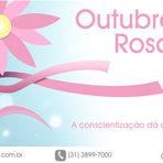 Torne o seu outubro rosa na luta contra o câncer de mama!