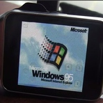 Windows 95 em smartwatch