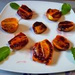 Culinária - Tamarilhos gratinados com açúcar mascavo!
