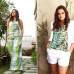 Blusas verao moda plus size 2015