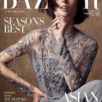 Coco Rocha é capa da Harper Bazaar Tailândia outubro 2014