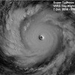 Alerta no Japão: Meteorologistas detectam o maior tufão registrado em 2014