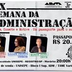 IX SEMANA DA ADMINISTRAÇÃO DA UNISEPE EM REGISTRO-SP NO VALE DO RIBEIRA
